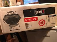 WEBER - Jumbo Joe Portable BBQ (smokey joe collection)