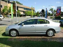 2006 Honda Civic 8th Gen MY07 Hybrid White 1 Speed Constant Variable Sedan Dutton Park Brisbane South West Preview
