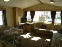 8 berth static holiday home, 12 month park, direct beach access,full facilities