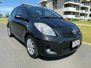 2009 Toyota Yaris NCP90R MY09 Edge Black 4 Speed Automatic Hatchback Somerton Park Holdfast Bay Preview