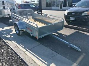 5x8 Galvanized Utility Trailers Great For ATVs!