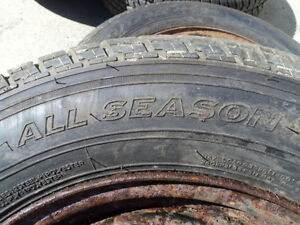 4 Motomaster Tires with Rims for Camry 205/65/15 Edmonton Edmonton Area image 5