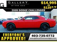 2009 Dodge Challenger SE $139 bi-weekly APPLY NOW DRIVE NOW