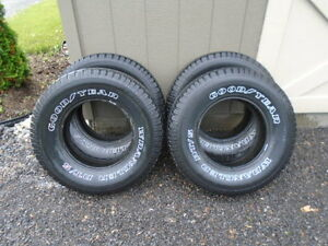 Tires and Rally rims for sale