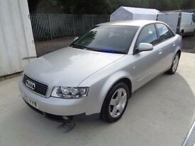 AUDI A4 1.9TDI SE 2003 5 DOOR 91,500 MILES ONE OWNER FULL MAIN DEALER SERVICE HISTORY MOT 1/03/17