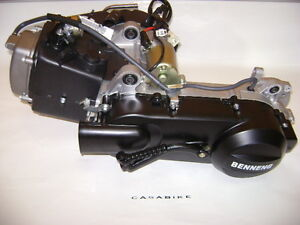 Motor komplett 10 Zoll QMB125ccm 4Takt GY6 152QMI ZNEN Roller Motroroller Retro