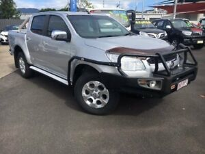 2015 Holden Colorado RG MY15 LTZ Crew Cab Silver 6 Speed Manual Utility Bungalow Cairns City Preview