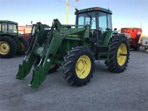 JOHN DEERE 7810 TRACTOR W/LOADER (NEEDS TO GO, GIVE OFFER)