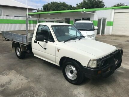1994 Toyota Hilux TRAYBACK UTE 4x2 White 5 Speed Manual Trayback Casino Richmond Valley Preview