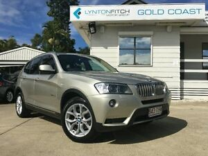 2013 BMW X3 F25 MY0413 xDrive30d Steptronic Mineral Silver Automatic Wagon Surfers Paradise Gold Coast City Preview