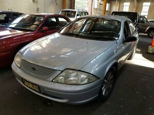 2000 Ford Falcon AU Futura Silver 4 Speed Automatic Sedan Georgetown Newcastle Area Preview