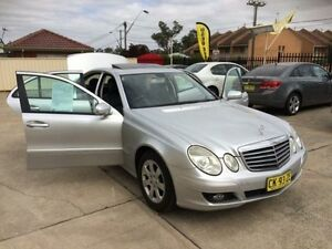 2007 Mercedes-Benz E200 Kompressor W211 MY07 Classic Silver 5 Speed Sports Automatic Sedan Queanbeyan Area Preview