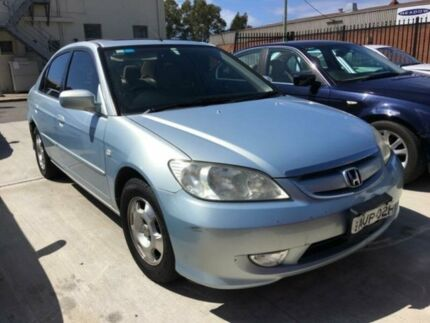 2005 Honda Civic 7TH GEN Hybrid Silver Continuous Variable Sedan