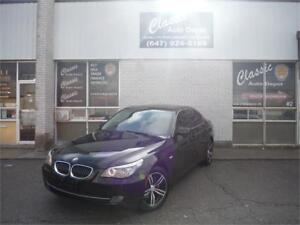 2008 BMW 528xi **LEATHER**SUNROOF**NAVIGATION**AWD**