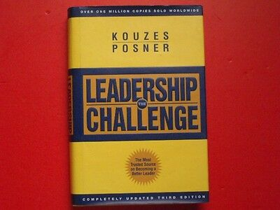 The Leadership Challenge by Barry Z. Posner and James M. Kouzes (2002, Hardcover on Rummage