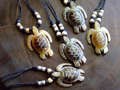 Schildkröte (kette,horn,schildkröte,turtle,schildkrötenkette,halskette,surferkette,)