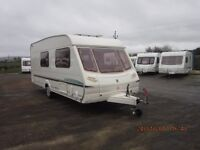2003 ABBEY AVENTURA 320 4 BERTH CARAVAN ANDERSON CARAVAN AND MOTORHOME SALES