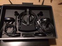 Oculus rift for a desktop computer.