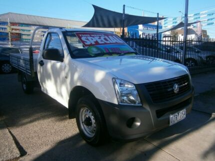 2007 Holden Rodeo RA MY06 Upgrade DX White 5 Speed Manual Cab Chassis Preston Darebin Area Preview