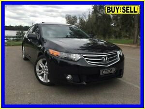 2010 Honda Accord 10 MY11 Euro Luxury Navi Charcoal 5 Speed Automatic Sedan Lansvale Liverpool Area Preview