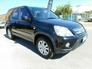 2006 Honda CR-V 2005 Upgrade (4x4) Sport Black 5 Speed Automatic Wagon