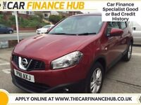 BAD CREDIT, NEED A CAR ?....PAY AS YOU GO FINANCE....NISSAN QASHQAI.....representative APR 14.5%
