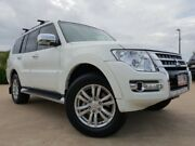 2017 Mitsubishi Pajero NX MY17 GLX White 5 Speed Sports Automatic Wagon Garbutt Townsville City Preview