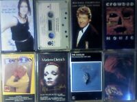 A-Z PAULA COLE E COSTELLO M CRAWFORD CROWDED H D DAY DIETRICH EAGLES ELO PRERECORDED CASSETTE TAPES