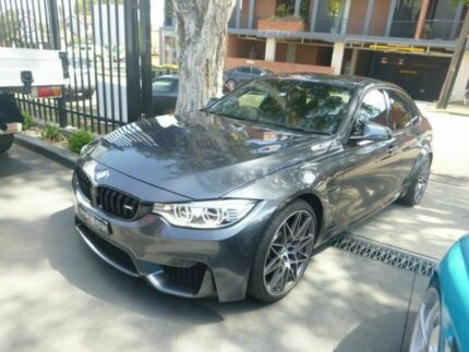 2017 BMW M3 F80 LCI Competition M-DCT Grey 7 Speed Sports Automatic Dual Clutch Sedan Granville Parramatta Area Preview