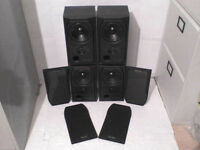4 x 75W Mission M731 Stereo Speakers - Heathrow