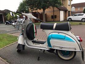 Vintage 1967 Vespa Super
