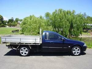 2002 Ford Falcon AU III Ute with TRAY Old Reynella Morphett Vale Area Preview