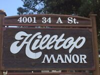 2 Bedroom Apartment at Hilltop Manor