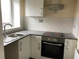 Spacious 1 bed flat fully refurbished, new kitchen and flooring not overlooked. 2nd Floor
