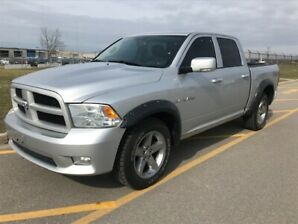 2010 DODGE RAM 1500 4X4 | ACCIDENT FREE|LEATHER|SUNROOF|NAVIGATI