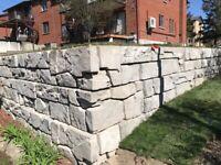 Mur de soutien hors-normes