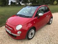 2014(14) Fiat 500 1.2 ( 69bhp ) LOUNGE ONLY 1 LADY OWNER SUPERB CONDITION