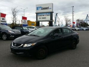 2013 Honda Civic ONLY $19 DOWN $59/WKLY!!