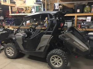 2013 Can Am Commander 800 w/Roof; 1/2 WShield; Snow Blade; Door Regina Regina Area image 10