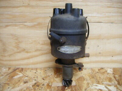 Original 1947 Case Vac Tractor Distributor Drive Assembly Autolite Cap Rotor S40
