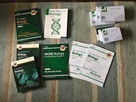 A-Level Biology Textbooks, Revision Guides, Exam Practice OCR, job lot or individually
