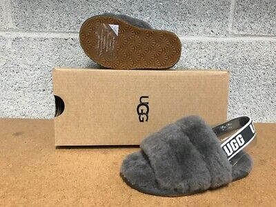 UGG TODDLERS FLUFF YEAH SLIDE CHRC