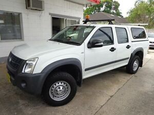 2008 Holden Rodeo RA MY08 LX White 4 Speed Automatic Crewcab Sylvania Sutherland Area Preview