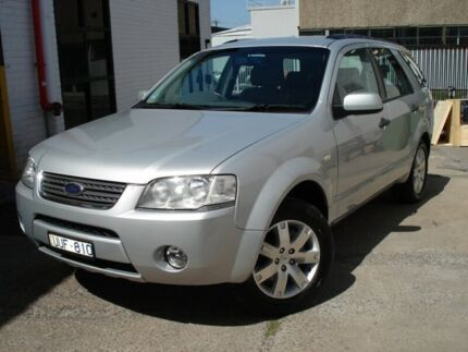 2007 Ford Territory SY Ghia Silver 4 Speed Sports Automatic Wagon Tottenham Maribyrnong Area Preview