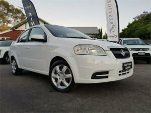 2008 Holden Barina TK MY08 White 4 Speed Automatic Sedan Mount Hawthorn Vincent Area Preview