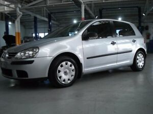 2007 Volkswagen Golf V MY07 Trendline DSG Silver 6 Speed Sports Automatic Dual Clutch Hatchback