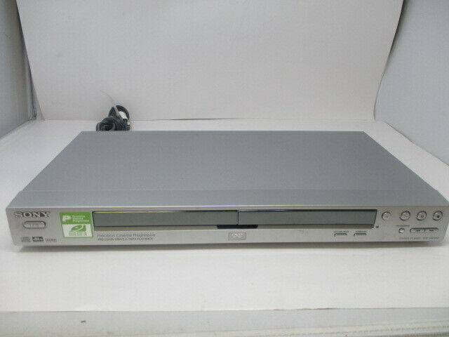Sony DVP-NS725P Precision Cinema Progressive Drive CD MP3 DVD Player w/o Remote