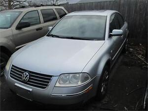 2003 Volkswagen Passat GLS RUNS AND DRIVES AS-TRADED AS-IS etest
