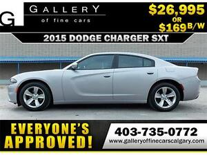2015 Dodge Charger SXT $169 bi-weekly APPLY NOW DRIVE NOW