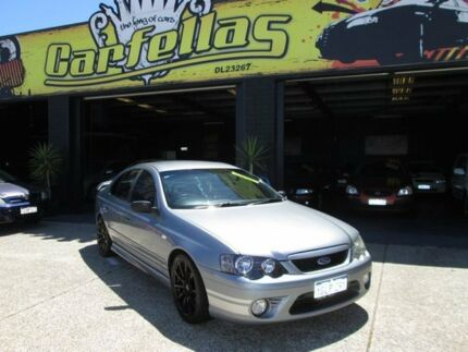 2006 Ford Falcon XR6 BF Grey 5 Speed Auto Active Select Sedan O'Connor Fremantle Area Preview